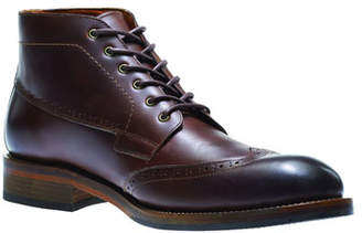 Wolverine Harwell Leather Wing-Tip Boot