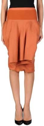 Rick Owens Knee length skirts - Item 35339417QF