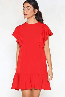 Nasty Gal Wow Ruffle Dress