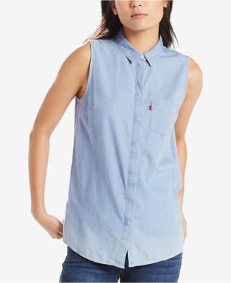Levi's Coralie Sleeveless Printed Shirt