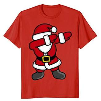 Dabbing Santa T-Shirt - Funny Santa Claus Gift For Christmas