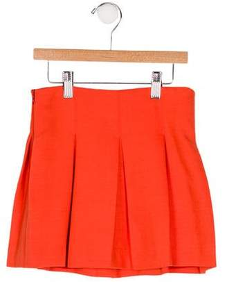 Milly Minis Girls' Pleated A-Line Skirt