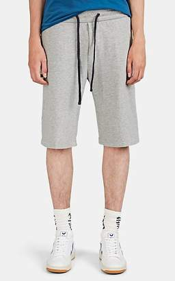 James Perse Men's Cotton French Terry Drawstring Shorts - Gray