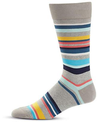 Paul Smith Striped Mid-Calf Socks