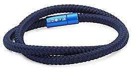 Tateossian Men's Shoreditch RT Braided Bracelet