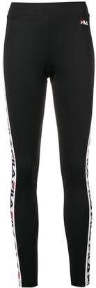 Fila logo side stripe leggings