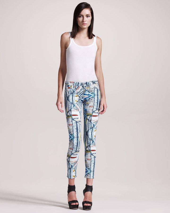 rag & bone/JEAN The Legging Jeans, Surf Knit