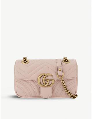 478e48025332 Gucci Marmont GG mini leather cross-body bag