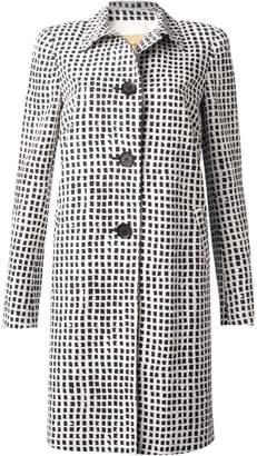 Bandolera Long B&W Coat