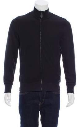 Burberry Equestrian Zip-Front Sweatshirt