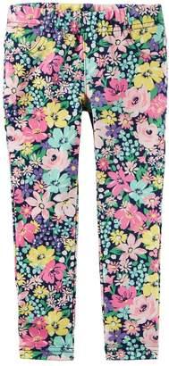 Carter's Girls 4-6X Floral Print Leggings
