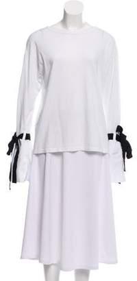 Clu Bateau Neck Long Sleeve Top w/ Tags