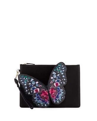 Sophia Webster Flossy Butterfly Pochette Clutch Bag