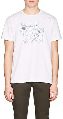"""Second / Layer Men's """"Nothing To Dress Up To"""" Cotton T-Shirt"""