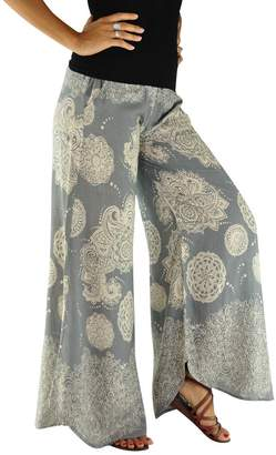 virblatt palazzo pants as wide leg lightweight summer pants - Légère ingy