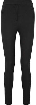 Moncler - Stretch-twill Leggings - Black $480 thestylecure.com
