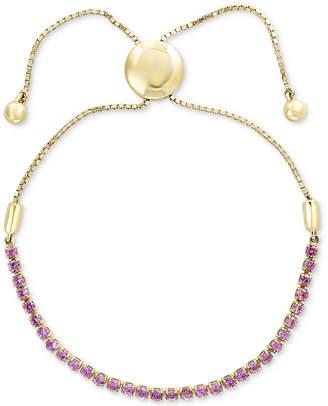 Effy Pink Sapphire Slider Bracelet (1-1/2 ct. t.w.) in 14k Gold