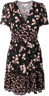 MICHAEL Michael Kors rose print dress