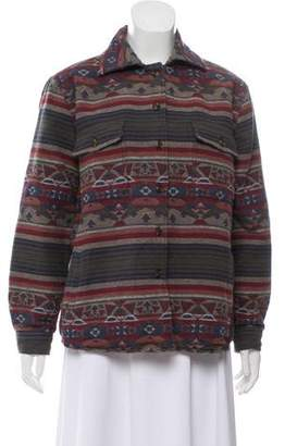 Faherty Button-Up Tribal Jacket