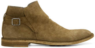 Officine Creative Brown Suede Standard 16 Boots