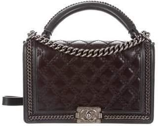 Chanel Paris-Salzburg Boy Handle Bag