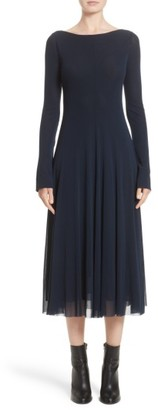 Women's Fuzzi Reversible Tulle Dress $465 thestylecure.com