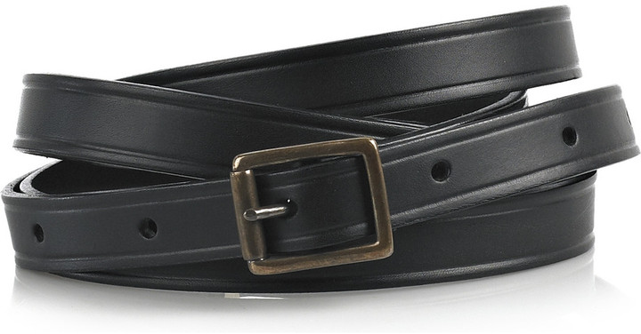 RM by Roland Mouret Rouclere leather wrap-around belt