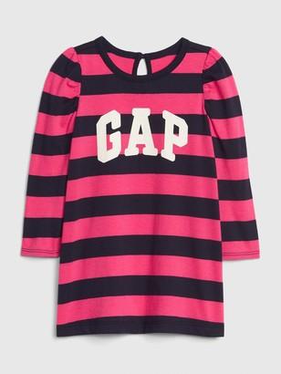 Gap Baby Logo Stripe Dress