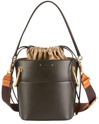 Chloé Roy Medium Smooth Leather Bucket Bag