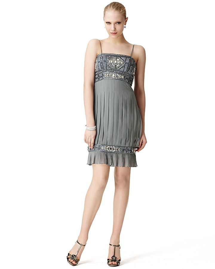 Sue Wong Beaded Flapper Dress