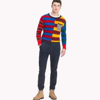 Tommy Hilfiger Block Stripe Oversized Sweater