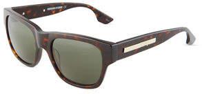 McQ Square Acetate Sunglasses