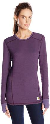 Carhartt Women's Base Force Cold Weather Crew Neck Top