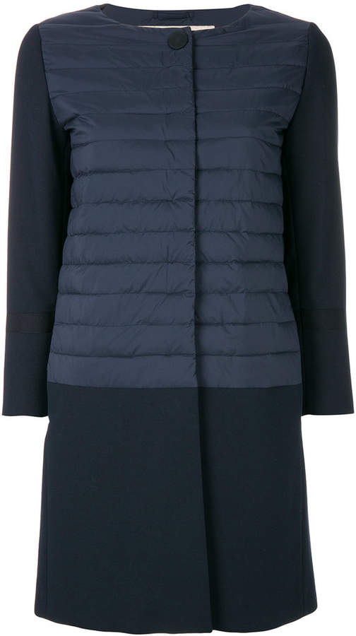 long quilted coat