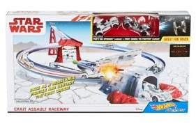 Mattel Crait Assault Raceway Toy Set