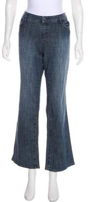 Michael Kors Mid-Rise Wide-Leg Jeans