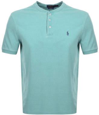 Ralph Lauren Crew Neck Pique T Shirt Green