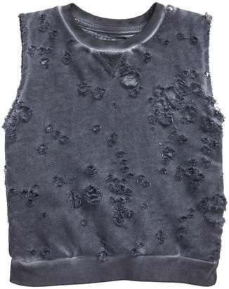 Nununu Distressed Mineral Wash Sweatshirt (Baby)