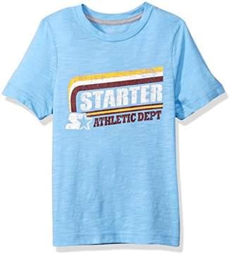 D.E.P.T Starter Boys' Short Sleeve Athletic Logo T-Shirt