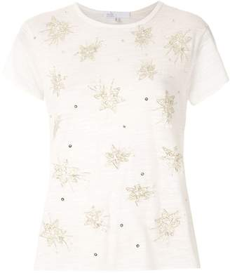 Nk Flame embroidered t-shirt
