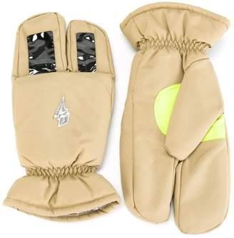 Walter Van Beirendonck Pre-Owned 'Believe' three finger gloves