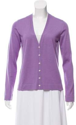 Malo Long Sleeve Cashmere Cardigan