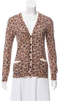 Marc by Marc Jacobs Patterned Button-Up Cardigan