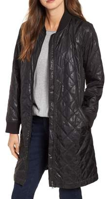 Eileen Fisher Stand Clear Quilted Jacket