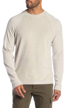 Theory Reverse Raglan Long Sleeve Shirt