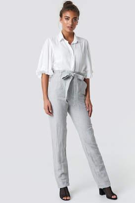 MANGO Paper Trousers