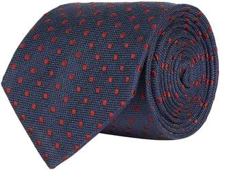 Eton Polka Dot Silk Tie