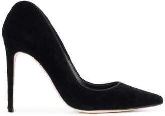 Alexander McQueen curved heel pumps