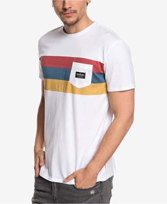 Quiksilver Men Peaceful Progression Stripe Pocket T-Shirt