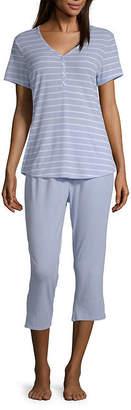 Liz Claiborne Women's Capri Pajama Set